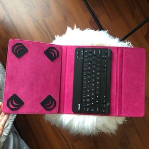 Other - Pink Table case + Keyboard